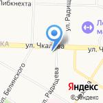 Элакс на карте Ярославля