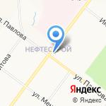 Яркамень на карте Ярославля