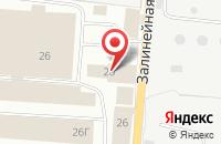 Схема проезда до компании Натрон в Вологде