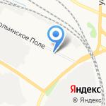 Еврострой на карте Ярославля