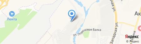 Давос-Трейдинг на карте Аксая