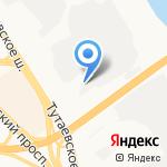 Амиди на карте Ярославля