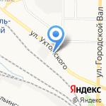 Дельфин на карте Ярославля