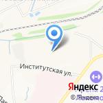 Рубин на карте Ярославля