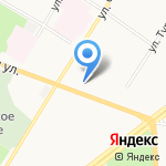 Атрус на карте Ярославля