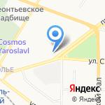 Бристоль на карте Ярославля
