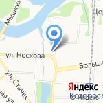 Автоскан на карте Ярославля