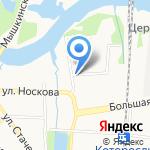 Русь на карте Ярославля