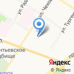 Ассамблея народов России на карте Ярославля