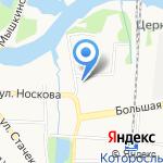 ДЮСШ №11 на карте Ярославля