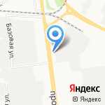 Автогород на карте Ярославля