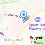 Женская консультация на карте Ярославля