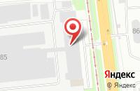 Схема проезда до компании На фабрике в Ярославле