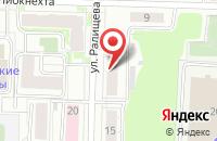 Схема проезда до компании Рада в Ярославле