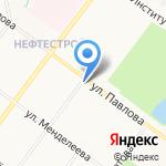 Ярославский районный отдел судебных приставов на карте Ярославля
