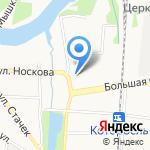 МарКон на карте Ярославля