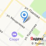 Химико-Технологический техникум на карте Ярославля