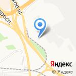 Щедрец на карте Ярославля