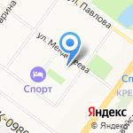 Малышок на карте Ярославля