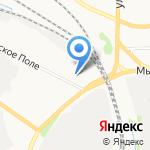 Империя окон и дверей на карте Ярославля