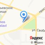 Улыбка на карте Ярославля