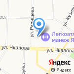 ДНК-клиника на карте Ярославля