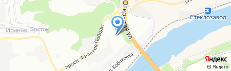 Банкомат КБ Центр-инвест на карте Ростова-на-Дону