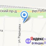Глобал фудс на карте Ярославля