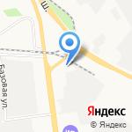 Ангел на карте Ярославля