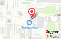 Схема проезда до компании СантехГазМонтаж в Ярославле