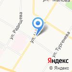 Серебряный ручей на карте Ярославля