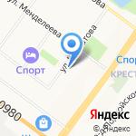 Центр повышения квалификации специалистов на карте Ярославля