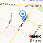 Детский сад №204 на карте Ярославля