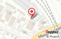 Схема проезда до компании ТвТ в Ярославле