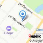 Средняя общеобразовательная школа №12 на карте Ярославля