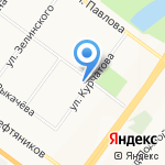 Центральная аптека Ярославского района на карте Ярославля