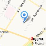 Коптев и К на карте Ярославля