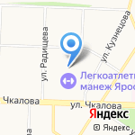 Дирекция спортивных сооружений на карте Ярославля