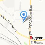 Детский сад №234 на карте Ярославля