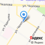 Версаче на карте Ярославля