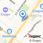 Золотой ломбард на карте Ярославля