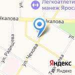 ИНГа на карте Ярославля