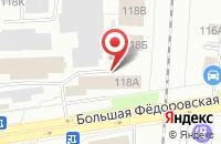 Схема проезда до компании Бизнес технологии в Ярославле