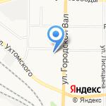 Парикмахерская эконом-класса на карте Ярославля