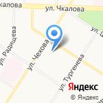 Камелот на карте Ярославля