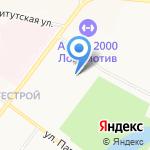 Славнефть на карте Ярославля