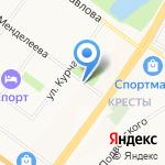 Транспереезд на карте Ярославля
