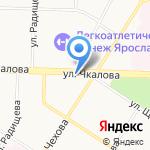 СIP+ на карте Ярославля