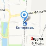 Тахион на карте Ярославля