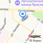 Магазин электробытовых товаров на карте Ярославля